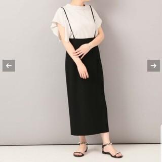 Noble - NOBLEノーブル【完売、美品】サロペットスカート38★イエナSHIPS