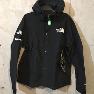 Supreme - Supreme × THE NORTH FACE マウンテンパーカー 黒[L]