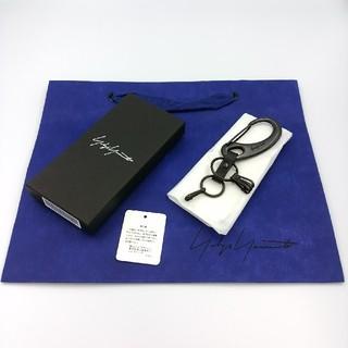 ヨウジヤマモト(Yohji Yamamoto)の新品 ヨウジヤマモト キーリング カラビナ キーホルダー(キーホルダー)