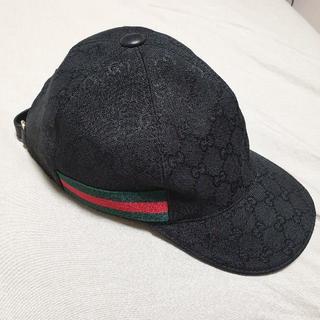 Gucci - グッチ GUCCI キャップ Mサイズ ブラック