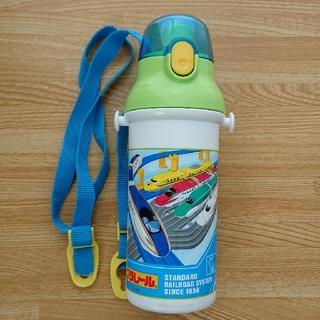 プラレール☆直飲み水筒 プラワンタッチ ボトル 480ml (水筒)
