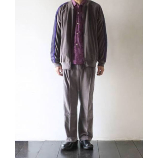 NEEDLES ⁄ Narrow Track Pant ニードルス S グレー