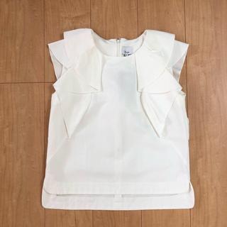 ルシェルブルー(LE CIEL BLEU)のパリンカ  トップス ノースリーブ フリーサイズ(カットソー(半袖/袖なし))