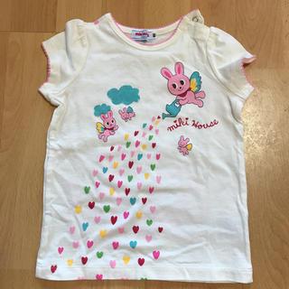ミキハウス(mikihouse)の美品 ミキハウス80 (Tシャツ)