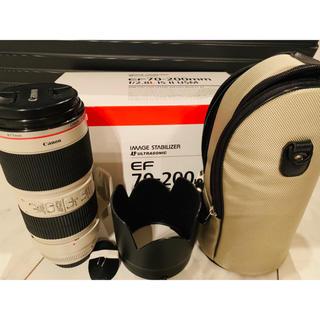 Canon - EF70-200mm F2.8L IS II USM 望遠レンズ 一眼