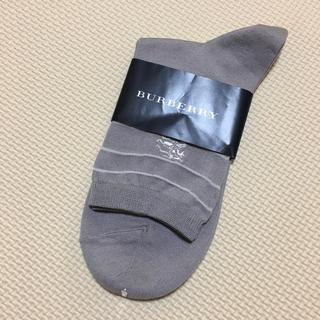 バーバリー(BURBERRY)のバーバリー 靴下(22-24cm)(ソックス)