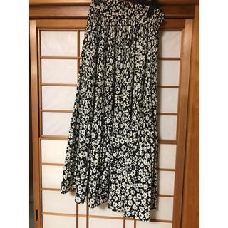 しまむら - しまむら 花柄 スカート