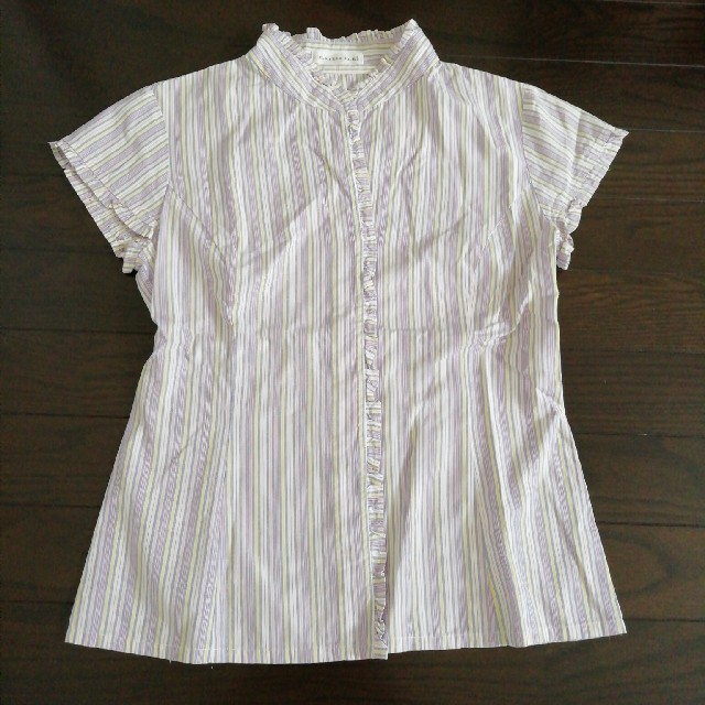 marble ink(マーブルインク)のノースリーブシャツ レディースのトップス(シャツ/ブラウス(半袖/袖なし))の商品写真
