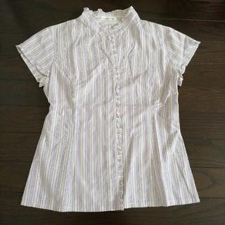 マーブルインク(marble ink)のノースリーブシャツ(シャツ/ブラウス(半袖/袖なし))