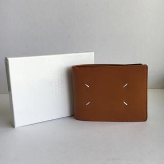 マルタンマルジェラ(Maison Martin Margiela)のメゾン マルタンマルジェラ 新品 ホワイトステッチ 2つ折り財布(折り財布)