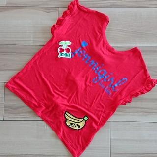 ジェニィ(JENNI)の美品♥️140★ジェニィ★バックリボン半袖Tシャツ(Tシャツ/カットソー)