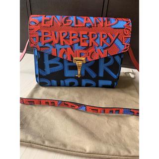 バーバリー(BURBERRY)の美品💕 バーバリー Burberry グラフィティ バッグ(ショルダーバッグ)