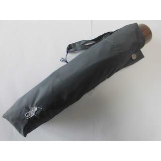 ポロラルフローレン(POLO RALPH LAUREN)の新品 ★ポロラルフローレン 紳士折り畳み雨傘 ライトグレー60(傘)