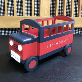 DEAN & DELUCA - DEAN&DELUCA 木製車 小物入れ