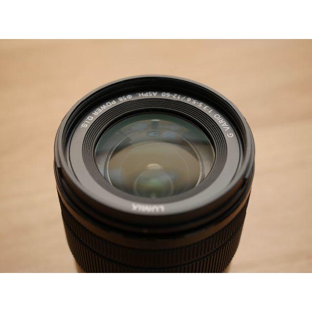 Panasonic(パナソニック)のLUMIX G VARIO 12-60mm F3.5-5.6 ASPH. スマホ/家電/カメラのカメラ(レンズ(ズーム))の商品写真