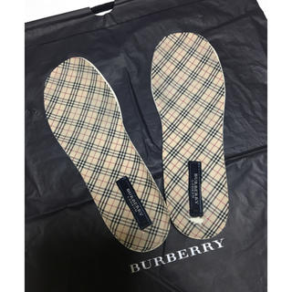 バーバリー(BURBERRY)のBURBERRY バーバリー  靴 中敷きインソール ノバチェック(その他)