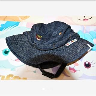 ヒステリックミニ(HYSTERIC MINI)のヒスミニ♥デニム♥ハット♥帽子♥ベビー♥キャップ♥赤ちゃん♥日よけ♥夏物(帽子)