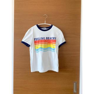 ザラ(ZARA)のザラ♡ロゴ  ビーチ Tシャツ(Tシャツ(半袖/袖なし))