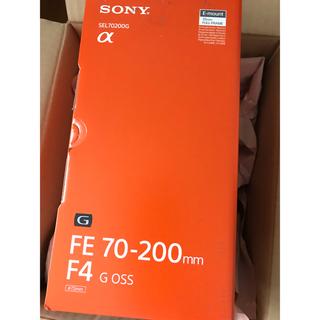 SONY - 新品 FE 70-200mm F4 G OSS SEL70200G