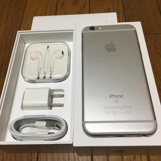 Apple - iPhone 6s Silver 64 GB SIMフリー