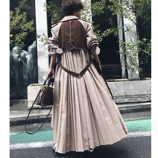 Ameri VINTAGE - タグ付き 新品 送料込み VARIOUS BACK PLEATS TRENCH