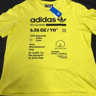 アディダス(adidas)の新品 LA購入レア adidas origimals イエロー Tシャツ XL(Tシャツ/カットソー(半袖/袖なし))