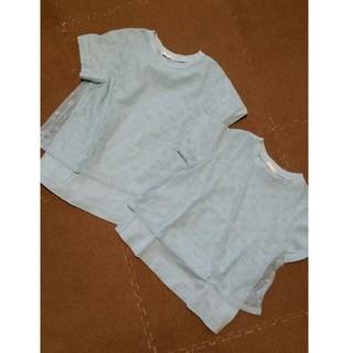 ジーユー(GU)のGU 140&120   2枚set(Tシャツ/カットソー)