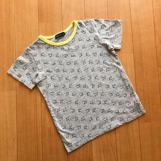mou jon jon - ANIMAL KID しまうま グレー Tシャツ