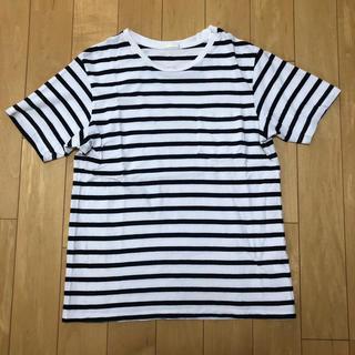 GU - GU ボーダーTシャツ