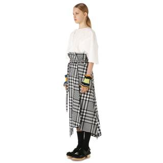 エンフォルド(ENFOLD)のENFOLDのランダムヘムスカート(ロングスカート)