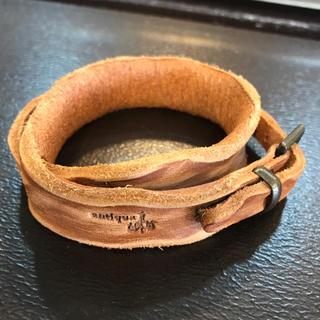antiqua - antique 本革 ブレスレット