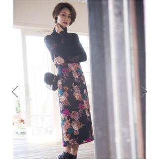 GRL - グレイル*花柄タイとロングスカート