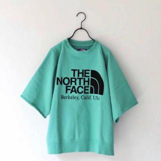 THE NORTH FACE - 完売モデル‼︎ ノースフェイスミントカラーTシャツ Lサイズ