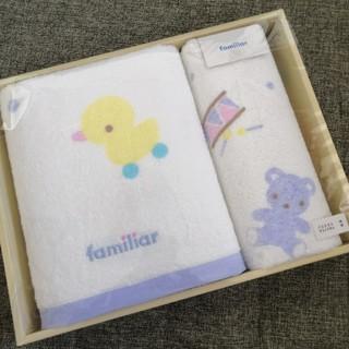 ファミリア(familiar)の新品♡ファミリア タオルセット(タオル/バス用品)