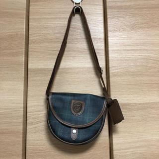 サンリオ(サンリオ)のサンリオ ポシェット チェック レトロ Sanrio ショルダーバッグ バッグ(ポシェット)