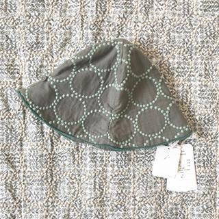 ミナペルホネン(mina perhonen)の新品ミナペルホネン ベビー キッズ タンバリン 帽子M(帽子)