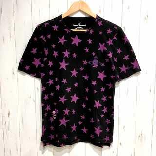 ヴィヴィアンウエストウッド(Vivienne Westwood)のヴィヴィアンウエストウッド アングロマニア 星柄 総柄 Tシャツ(Tシャツ/カットソー(半袖/袖なし))