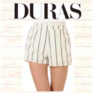 デュラス(DURAS)のDURASストライプショートパンツ♡新品✨タグ付 GYDA ZARA SLY(ショートパンツ)