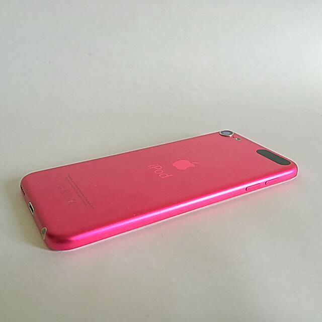 iPod touch(アイポッドタッチ)のiPod touch 6世代 16GB 美品 ピンク スマホ/家電/カメラのオーディオ機器(ポータブルプレーヤー)の商品写真