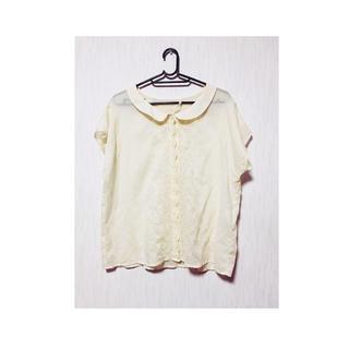 サマンサモスモス(SM2)のsm2 刺繍ブラウス(Tシャツ/カットソー(半袖/袖なし))