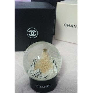 シャネル(CHANEL)のシャネル スノードーム ◆ノベルティ 非売品 ディスプレイ(ノベルティグッズ)