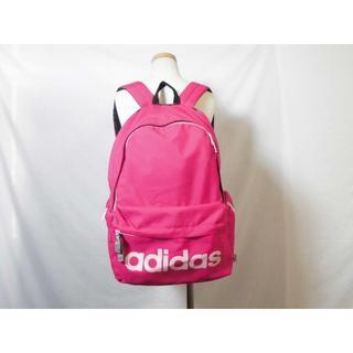 アディダス(adidas)の2427 adidas リュック アディダス バッグ ピンク色(リュック/バックパック)