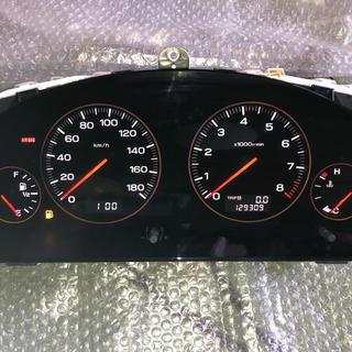 スバル(スバル)のスバル レガシィワゴン ブラックフェイスメーター D型 MT用 129309km(車種別パーツ)