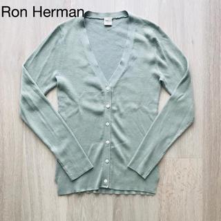 Ron Herman - 【美品】お値下げ!ロンハーマン  リブ カーディガン♡