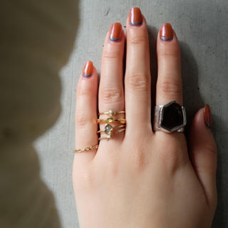 1点もの unby  yoshida tomoyo ダイヤモンドリング(リング(指輪))