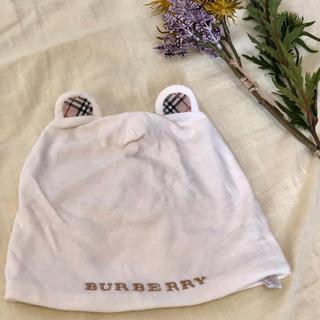 バーバリー(BURBERRY)のバーバリー クマ耳帽子(帽子)