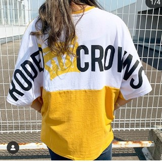 RODEO CROWNS WIDE BOWL - バイカラーT yel