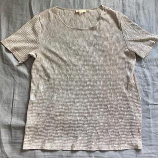 〈 used 〉 shiny cut-sew(シャツ/ブラウス(半袖/袖なし))