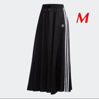 アディダス(adidas)のadidasロングスカート黒(ロングスカート)