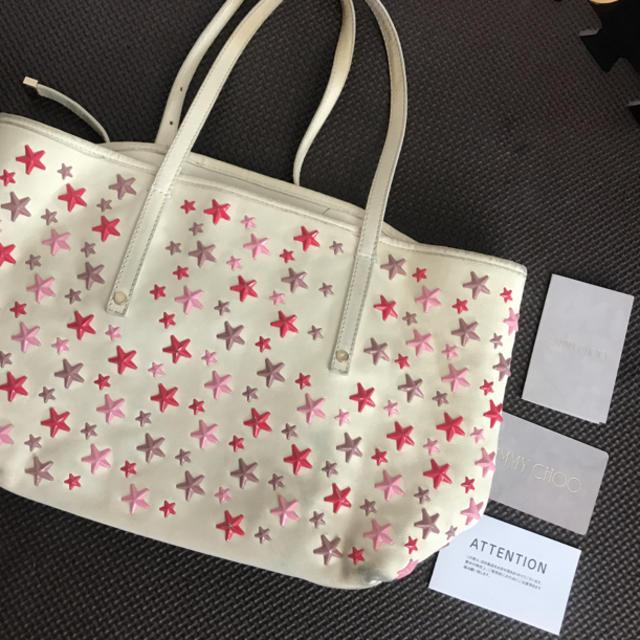 JIMMY CHOO(ジミーチュウ)のジミーチュウ♡ レディースのバッグ(ハンドバッグ)の商品写真